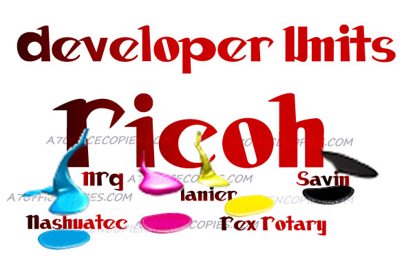 Developer Units Ricoh-mpc300